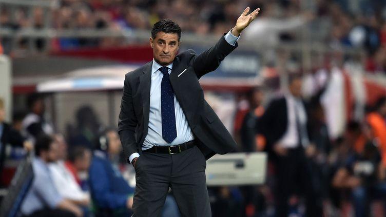 José Miguel Gonzalez del Campo est le nouvel entraîneur de l'OM  (ARIS MESSINIS / AFP)