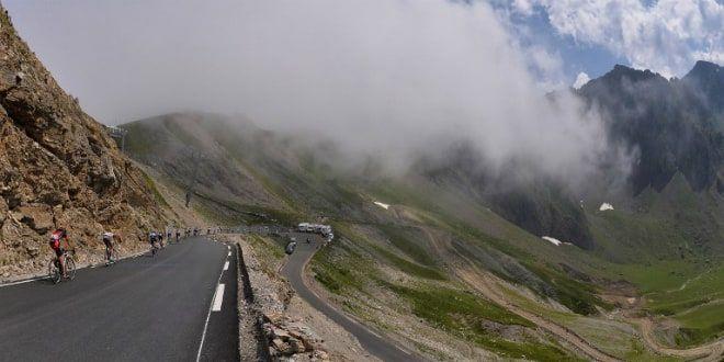 Le Tour dans les Pyrénées