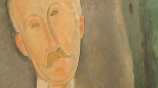 Portrait de Roger Dutilleul peint par Modigliani  (France3/Culturebox)