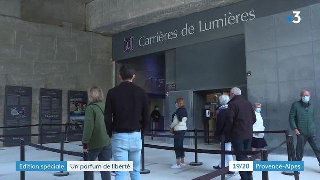 Réouvertures Baux de Provence carrière des lumières et le Museon Arlaten