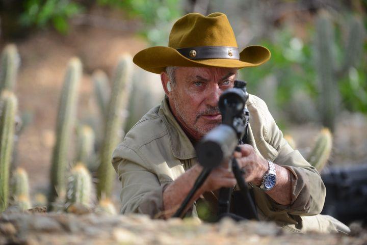 L'acteur allemand Udo Kier dans Bacurau des réalisateurs brésiliensKleber Mendonça Filho et Juliano Dornelles (SBS Distribution)