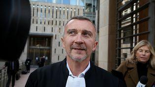 Laurent-Franck Liénard, le 19 février 2018, à Aix-en-Provence (Bouches-du-Rhône). (MERCIER SERGE / MAXPPP)