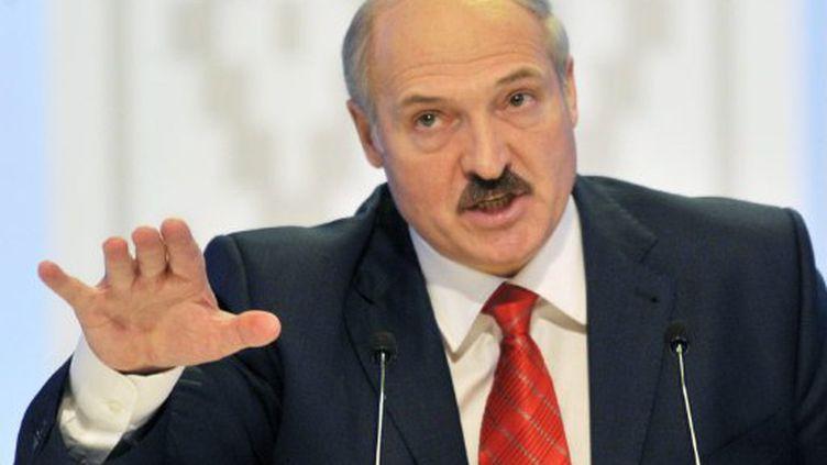 """Le président du Bélarus n'a pas été convié au sommet du """"Partenariat oriental"""". (Sergei Supinski / AFP)"""