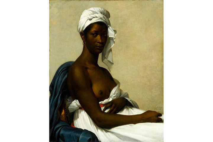 """Marie Guillemine Benoist, """"Portrait de Madeleine"""", 1800, Paris, musée du Louvre  (RMN-Grand Palais (Musée du Louvre) / Gérard Blot)"""