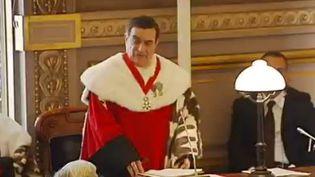 Un juge français. (CAPTURE D'ÉCRAN FRANCE 2)