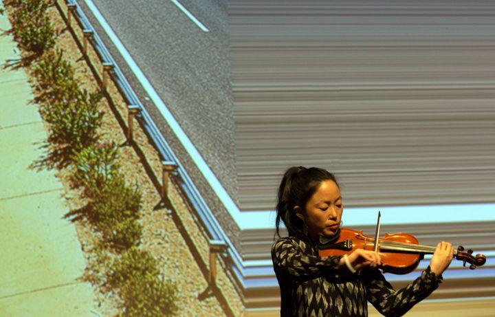 La violoniste et compositrice Pauchi Sasaki (Jean-François Lixon)