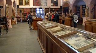 Bibliothèque humaniste de Sélestat  (France3/Culturebox)