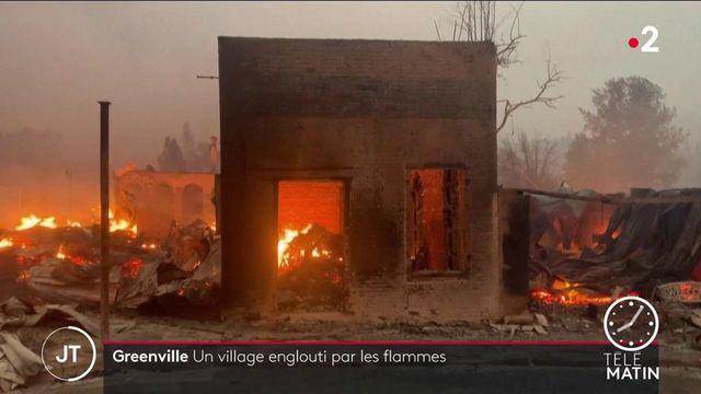 États-Unis : le gigantesque incendie Dixie Fire a ravagé la ville de Greenville