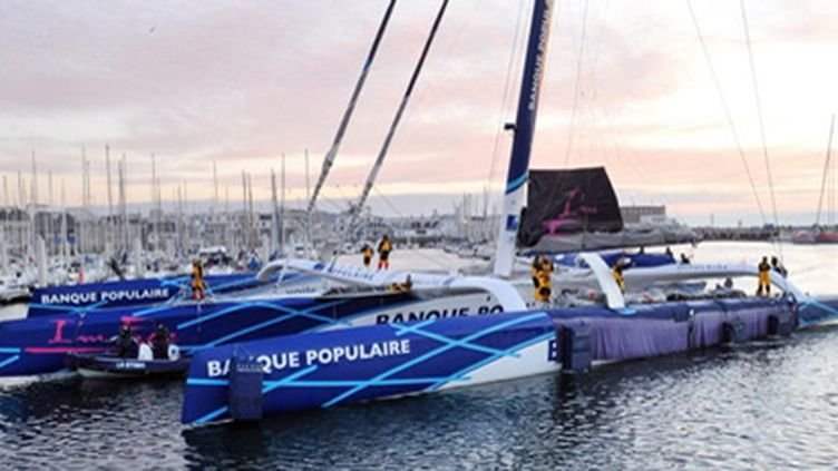 Banque Populaire attend son heure (FRED TANNEAU / AFP)
