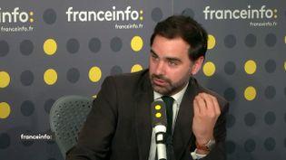 Laurent Saint-Martin, vice-président de la commission des finances, député LREM du Val-de-Marne. (FRANCEINFO / RADIOFRANCE)