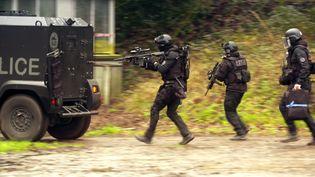 """Capture d'écran extraite du documentaire """"Terrorisme : la réponse française"""", diffusé dans """"C dans l'air"""", sur France 5, le 28 avril 2018 (MAXIMAL PRODUCTIONS)"""