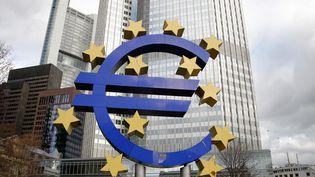 Le siège de la Banque centrale européenne (BCE) à Francort (Allemagne). (MAXPPP)