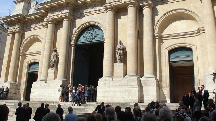 L'entrée de l'église Saint-Toch, à Paris, le 5 mai 2011. (PIERRE VERDY / AFP)