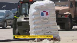 L'aidealimentaire française est arrivée au Liban (FRANCEINFO)
