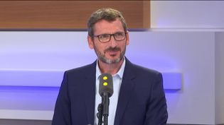 Matthieu Orphelin invité de franceinfo. (FRANCEINFO / RADIOFRANCE)