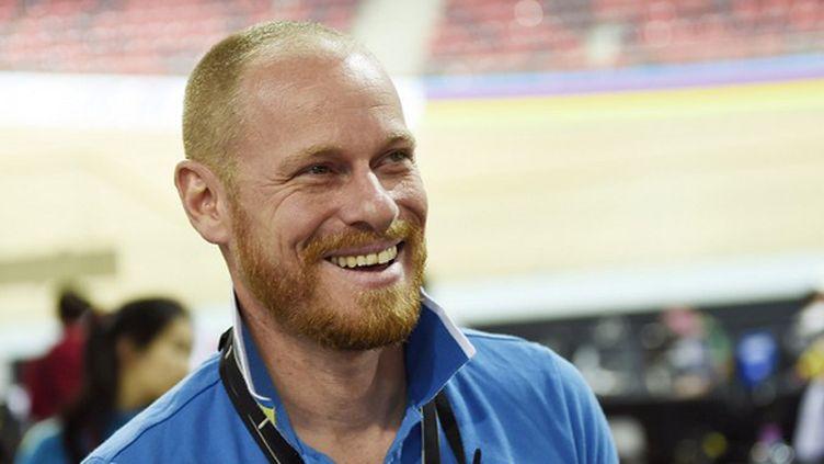 Benoit Vétu guide la Chine vers les sommets du cyclisme sur piste (LOIC VENANCE / AFP)
