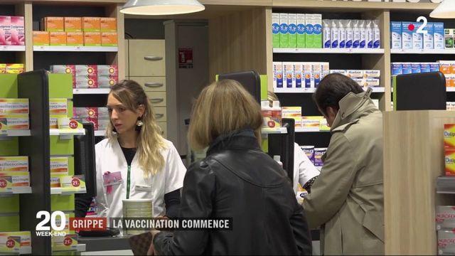 Grippe : quatre régions testent la vaccination en pharmacie