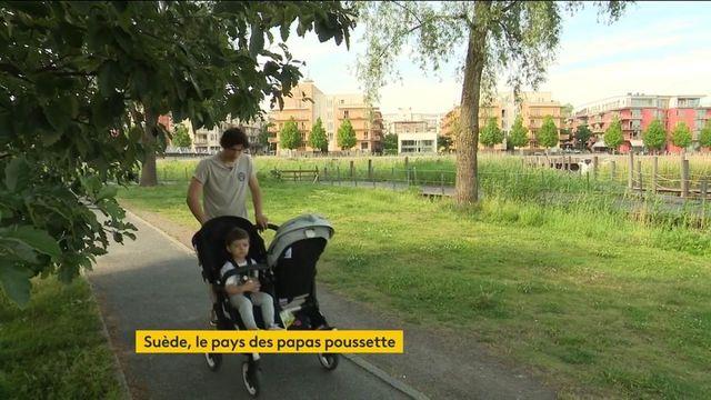 """La Suède, le pays des """"papas poussette"""""""