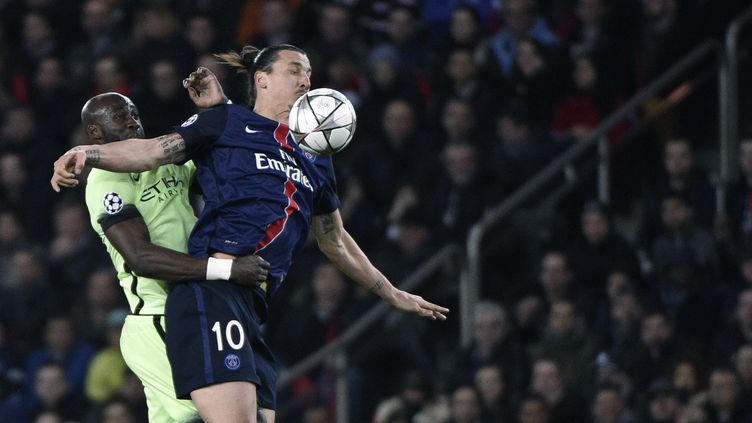 Zlatan Ibrahimovic (PSG)  (MARTIN BUREAU / AFP)