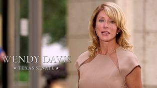 La sénatrice (démocrate) texane, Wendy Davis. ( FRANCETV INFO)