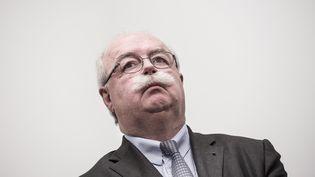 Le PDG de Total, Christophe de Margerie, le 28 janvier 2014 à Paris. (  MAXPPP)