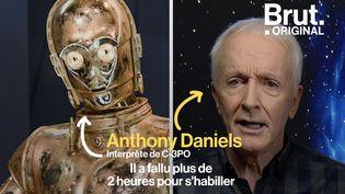 VIDEO. Star Wars : Anthony Daniels se confie sur les dessous du personnage C3PO (BRUT)