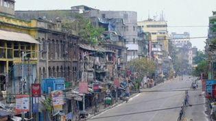 La ville de Calcutta (Inde) durant le confinement. (FRANCE 2)