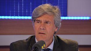 Stéphane Le Foll, ministre de l'Agriculture et porte-parole du gouvernement. (Jean-Christophe Bourdillat / Radio France)