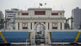 Le stade d'Alexandrie, l'un des sites qui accueillera la prochaine Coupe d'Afrique des Nations (CAN) qui se tiendra du 21 juin au 19 juillet 2019 en Egypte. (MOHAMED EL-SHAHED / AFP)