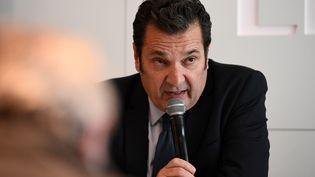 Le directeuréxécutif de la Ligue de football professionnel (LFP) Didier Quillot. (FRANCK FIFE / AFP)
