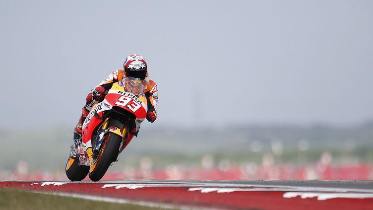 L'Espagnol Marc Marquez (Honda) (THOMAS B. SHEA / AFP)
