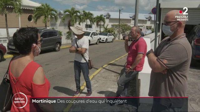 Martinique : des coupures d'eau courante dans la commune de Sainte-Luce