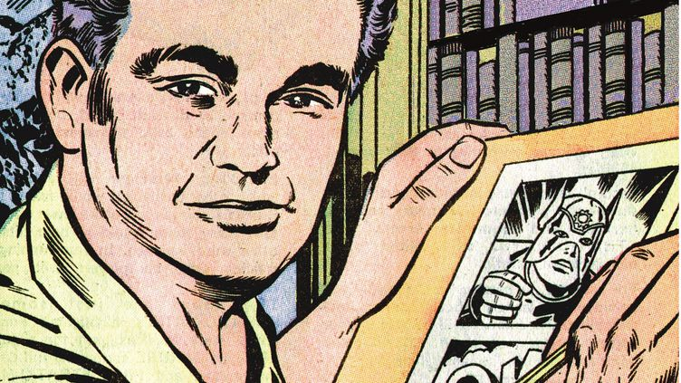 Jack Kirby Autoportrait (1971-2018 DC COMICS. All Rights Reserved)