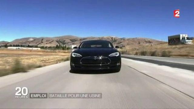 Emploi : bataille pour une usine Tesla
