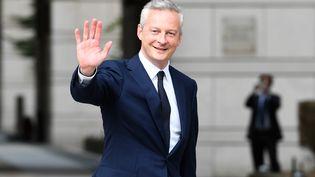 Le nouveau ministre de l'Economie, Bruno Le Maire, le 17 mai 2017 à Paris. (CHRISTOPHE ARCHAMBAULT / AFP)