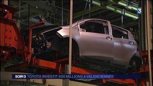 Toyota va créer de nouveaux emplois à Valenciennes. (FRANCE 3)