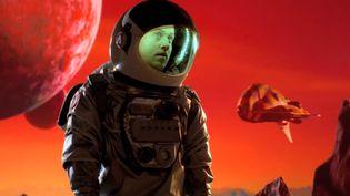 """Joseph Mount de Metronomy dans le clip """"I'm Aquarius"""".  (Saisie écran)"""