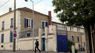 La gendarmerie de Persan (Val-d'Oise), le 20 juillet 2016. (MAXPPP)