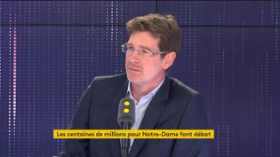 Pascal Canfin, le 18 avril 2019 sur franceinfo. (FRANCEINFO)