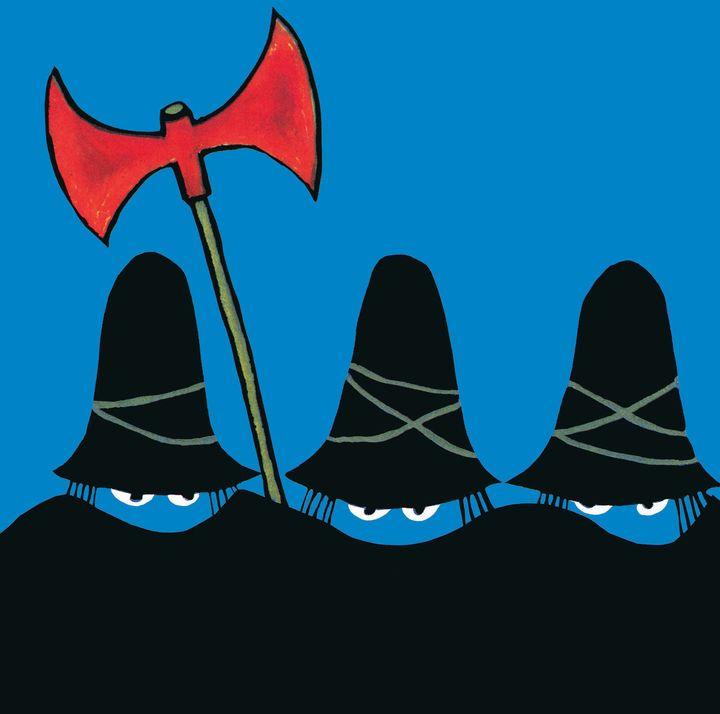 """""""Les trois brigands"""", Tomi Ungerer  (Tomi Ungerer / L'école des loisirs)"""