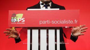 Les vœux à la presse du Parti socialiste, à Solférino, le 10 janvier 2018. (MAXPPP)