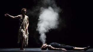 """""""Darkness is hiding black horses"""" de SaburoTeschigawara  (Agathe Poupeney / Opéra national de Paris )"""