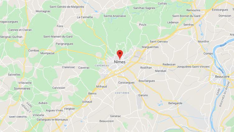 Nîmes (Gard). (FRANCEINFO / RADIOFRANCE)