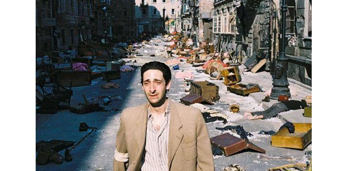 """""""Le pianiste""""de Roman Polanski. Tournage à Babelsberg en 2002  (DR)"""