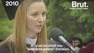 VIDEO. Lisa Kudrow raconte comment elle est devenue Phoebe (BRUT)
