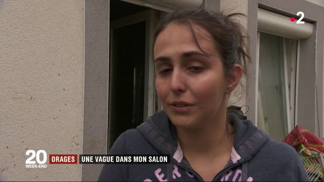 Orages :  dans le Rhône, des torrents dévastent les l'intérieur des maisons
