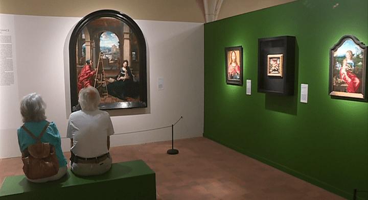 Une très belle exposition sur les peintres primitifs flamands actuellement au monastère royal de Brou.  (France 3 / Culturebox)
