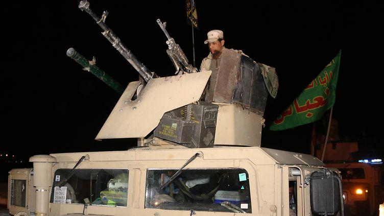 L'armée irakienne se prépare à la bataille de Mossoul contre l'Etat islamique (MARWAN IBRAHIM / AFP)