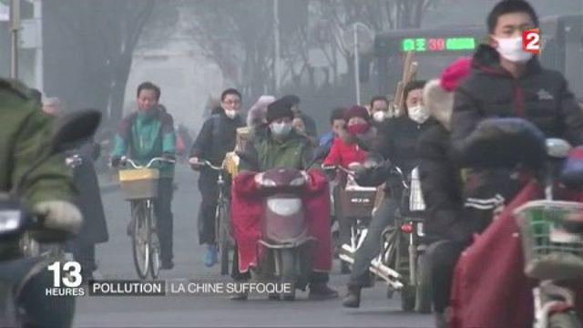 Chine : Pékin en alerte rouge à la pollution pour le quatrième jour consécutif