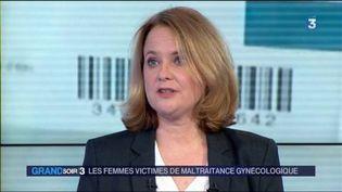 Mélanie Déchalotte, auteure de l'ouvrageLe livre noir de la gynécologie. (FRANCE 3)